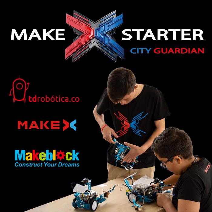 MakeX Starter: City Guardian