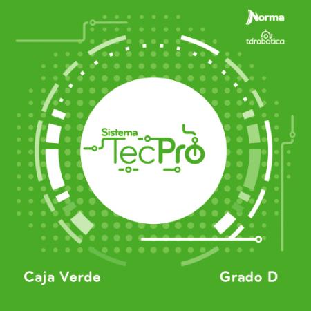 Caja Verde Tecpro Nivel D