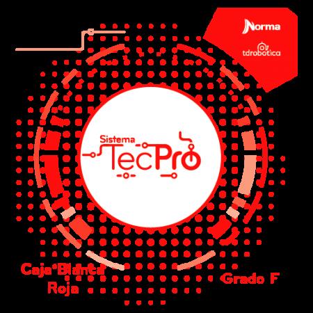 Caja Blanca – Roja TecPro Caja Grado F
